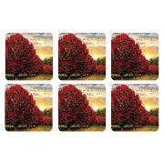 poháralátét Crimson Trees